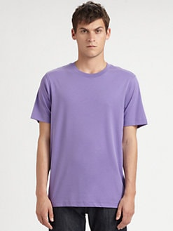 Saks Fifth Avenue Men's Collection - Stretch Cotton Crewneck Tee