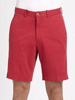 Saks Fifth Avenue Men's Collection - Garment-Dyed Cotton Shorts
