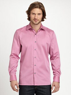Saks Fifth Avenue Men's Collection - Cotton Sportshirt