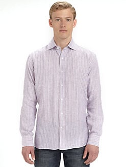 Saks Fifth Avenue Men's Collection - Linen Sportshirt
