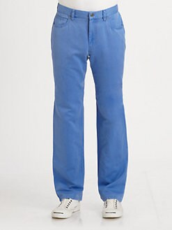 Saks Fifth Avenue Men's Collection - Cotton/Linen Pants