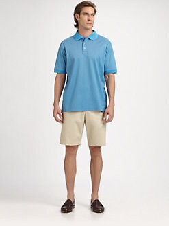 Saks Fifth Avenue Men's Collection - Mercerized Cotton Polo