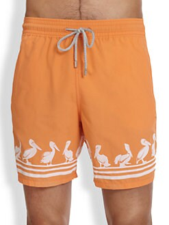 Vilebrequin - Moorea Pelican Swim Trunks