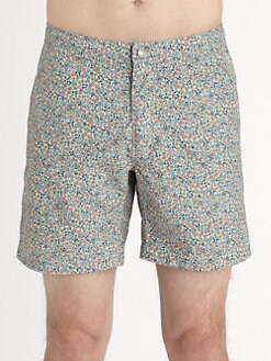 Onia - Calder Liberty-Print Swim Trunks
