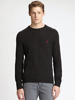 Original Penguin - Allover Donegal Crewneck Sweater