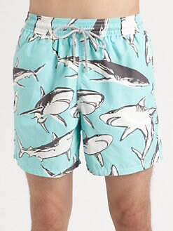 Vilebrequin - Shark Print Swim Trunks