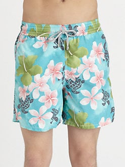 Vilebrequin - Turtle-Print Swim Trunks