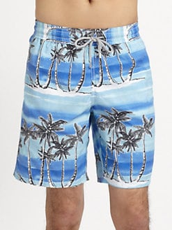 Vilebrequin - Island Print Swim Trunks
