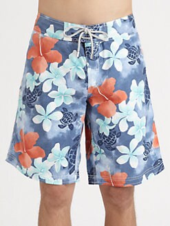Vilebrequin - Flower Print Swim Trunks