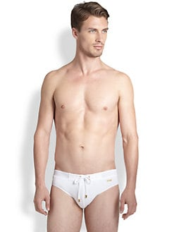 2XIST - Gold Rio Swim Briefs
