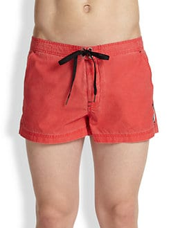 Diesel - Coral Rif Stretch Cotton Swim Shorts