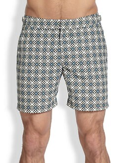Orlebar Brown - Bulldog Orbital Print Swim Trunks