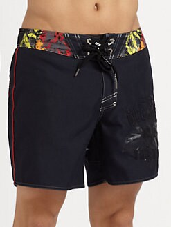 Diesel - Printed Swim Trunks