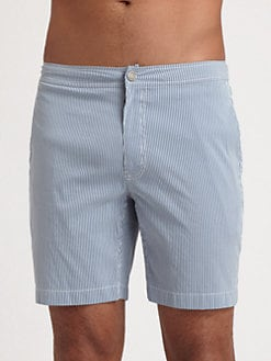 Onia - Calder Micro Stripe Swim Trunks