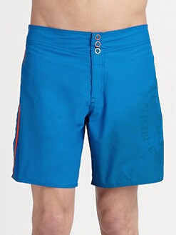 Diesel - Cotton-Blend Swim Shorts