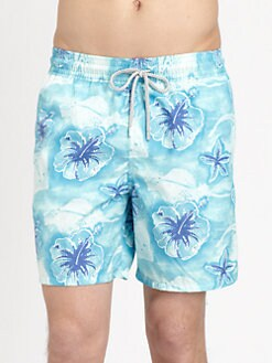 Vilebrequin - Printed Swim Trunks