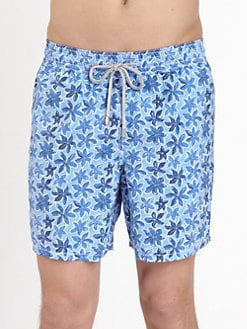 Vilebrequin - Moorea Printed Swim Trunks