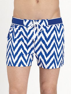 2XIST - Herringbone Ibiza Swim Trunks