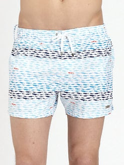 2XIST - School of Fish Ibiza Swim Trunks