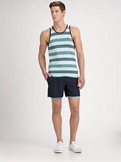Original Penguin - Striped Cotton Tank