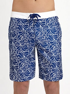 Original Penguin - Printed Swim Trunks