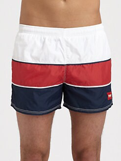 BOSS Black - Butteryfly Fish Swim Trunks