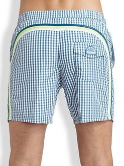 Sundek - Gingham Board Shorts