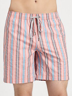 Onia - Tailored Striped Swim Trunks