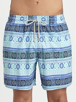 Vilebrequin - Safari Print Swim Trunks