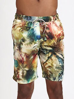 Paul Smith - Long Slim Swim Shorts