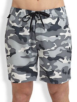 Sundek - Camo Swim Trunks
