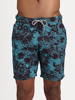 Paul Smith - Printed Swim Trunks