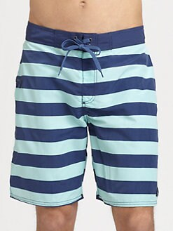 Vineyard Vines - Striped Board Shorts