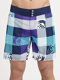 Diesel - Madras Swim Boxers