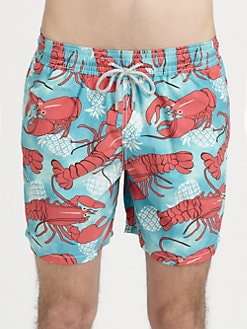 Vilebrequin - Lobster & Pineapple Swim Trunks