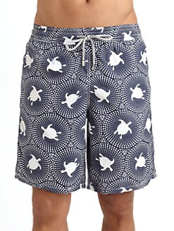 Vilebrequin - Okoa Mosaic Swim Trunks
