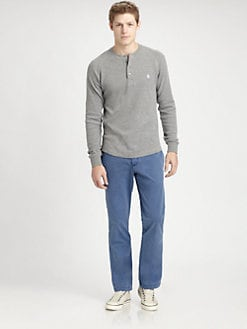 Original Penguin - Waffle Henley