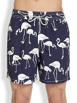 Vilebrequin - Moorea Flamigo Swim Trunks