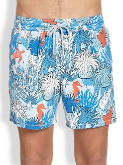 Vilebrequin - Moorea Coral Reef Swim Trunks