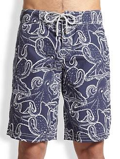 Vilebrequin - Ocean Octopus Swim Trunks