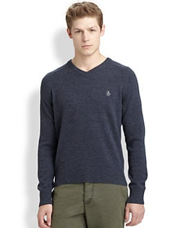 Original Penguin - Donegal V-Neck Sweater