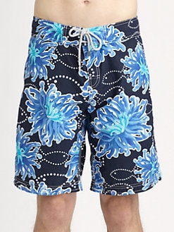 Vilebrequin - Sea Anemones Printed Swim Trunks