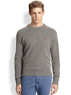 Original Penguin - Raglan Lambswool Crewneck Sweater