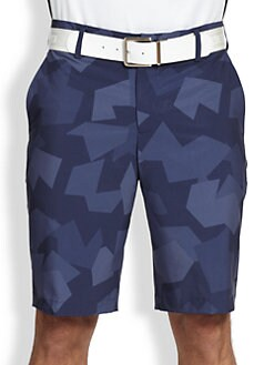 J. Lindeberg Golf - Regular-Fit Micro Stretch Shorts