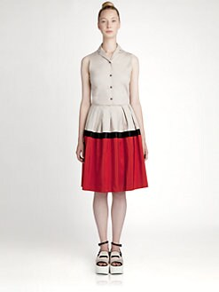 Jil Sander Navy - Mondrian Dress