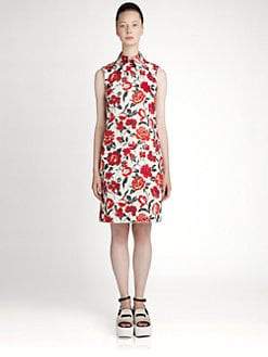 Jil Sander Navy - Floral Dress