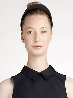 Jil Sander Navy - Leather Headband