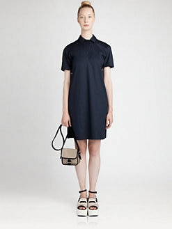 Jil Sander Navy - Cotton Tunic Dress