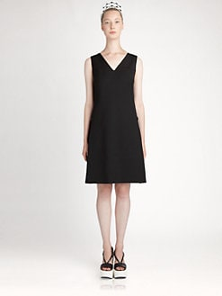 Jil Sander Navy - Wool Dress