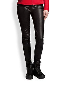 Jil Sander Navy - Leather Pants